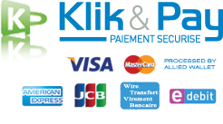 Accepting MC, VISA, AMEX, Discover with KlickandPay